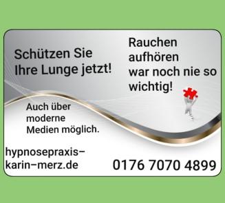 Raucherentwöhnung Hypnose Frankfurt Karin Merz